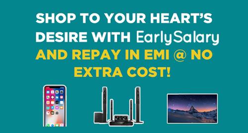 Early Salary- 0% EMI Amazon Payment